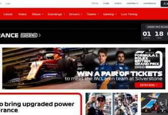 Formula 1 screengrab